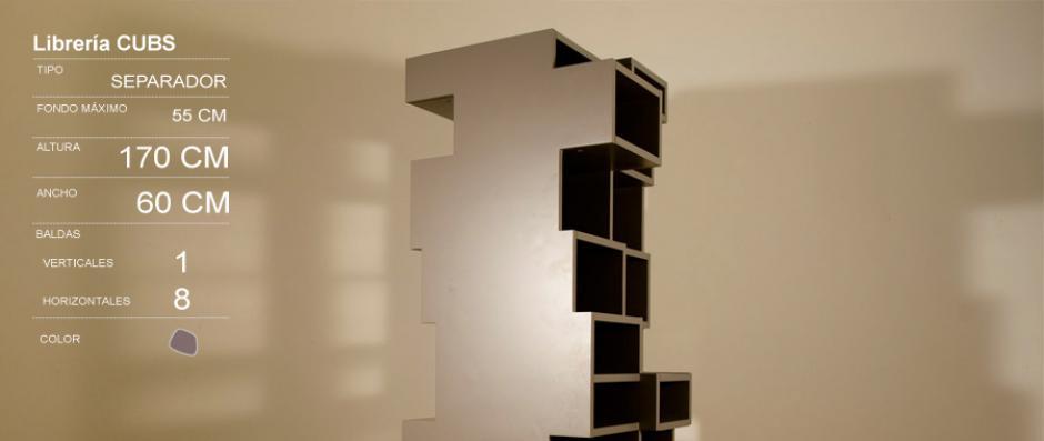 Imotiu estanter as mueble a medida generativo - Estanterias a medida ...