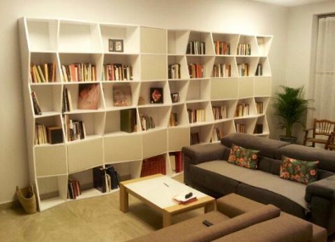 librería ELECTRIC imotiu para sala de estar